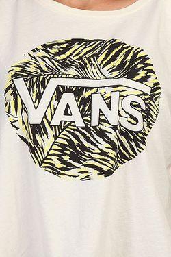 Топ Женский Palm Garden Croppe Creme Vans                                                                                                              бежевый цвет