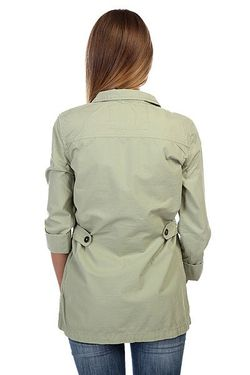 Рубашка Женская Casey Jacket Tea Vans                                                                                                              зелёный цвет