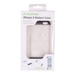 Чехол Для Iphone 5 Kspc If5d White/Black Avantree                                                                                                              чёрный цвет