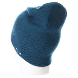 Шапка Носок Fine Knit Beanie Moroccan Blue Oakley                                                                                                              синий цвет