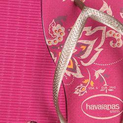 Вьетнамки Женские Fl Slim Season Purple Havaianas                                                                                                              фиолетовый цвет