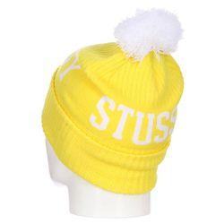 Шапка Вязаная С Помпоном Муж Classic Pom Stussy                                                                                                              желтый цвет