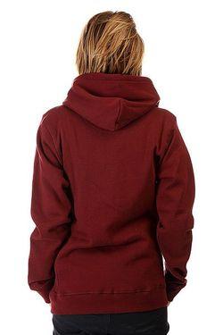Толстовка Женская Enlightenment Vino Poler                                                                                                              красный цвет