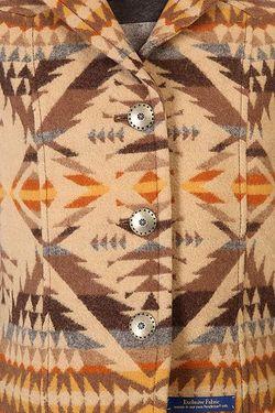 Жилет Женский Jacquard High Desert Pendleton                                                                                                              бежевый цвет