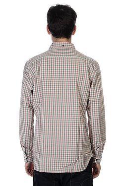 Рубашка В Клетку Northcatcher Rosewoo Quiksilver                                                                                                              бежевый цвет