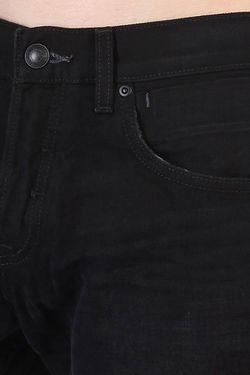 Джинсы Широкие Sequelblkrin34 Black Rinse Quiksilver                                                                                                              черный цвет
