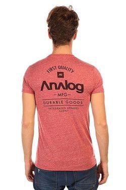 Футболка Ag The Goods Fb Slm Blood Analog                                                                                                              красный цвет