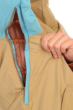 Анорак Сноубордический Mb Flint Jk Cork Mashup Burton                                                                                                              голубой цвет