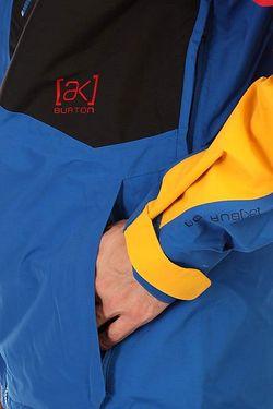 Куртка Ak 2l Cyclic Jk Tblk/Mofya/Tide/Blzd Burton                                                                                                              синий цвет