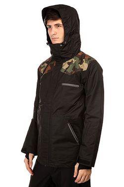 Куртка 180 Switch Classic Jacket Black Camo Romp                                                                                                              черный цвет