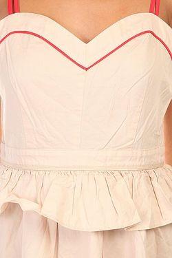 Платье Женское Elva Dress Offwhite Rules By Mary                                                                                                              розовый цвет
