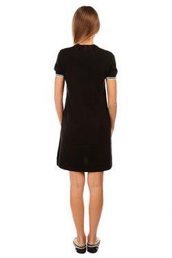 Платье Женское Knitted Dress Black Fred Perry                                                                                                              чёрный цвет