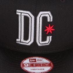Бейсболка С Прямым Козырьком Dc Downdown Sb Dcshoes                                                                                                              черный цвет