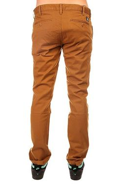 Штаны Узкие Dc Wrk Slm Chno Ndpt Dcshoes                                                                                                              коричневый цвет