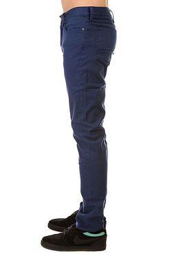 Джинсы Узкие Dc Colour Slim Jea Pant Dcshoes                                                                                                              синий цвет