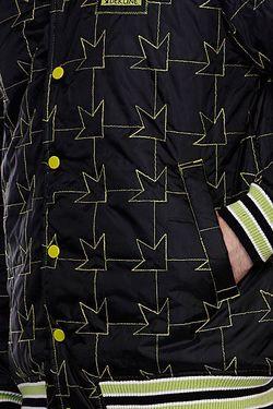 Куртка Бомбер Team Jacket Black/Green Dekline                                                                                                              черный цвет