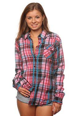 Рубашка Женская Flanno Kiddo Pink Insight                                                                                                              розовый цвет