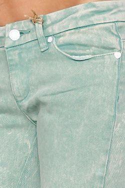 Джинсы Узкие Женские Skinny Stretch Ankle Biter Insight                                                                                                              зелёный цвет