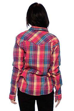 Рубашка Женская Flanno Kiddo Orange Insight                                                                                                              фиолетовый цвет