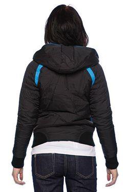 Куртка Женская Nylon Duvet Coat Black Zoo York                                                                                                              черный цвет