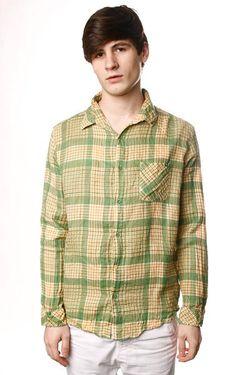 Рубашка Overkill Shirt Psyche Green Insight                                                                                                              зелёный цвет