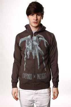 Толстовка Tarantula Hood Coal Black Insight                                                                                                              черный цвет