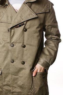 Пальто Apocalypse Acdc Green Insight                                                                                                              зелёный цвет