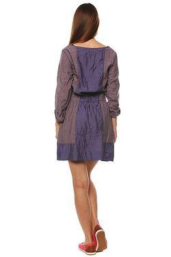 Платье Женское Raggedy Anne Dress Dob Purple Insight                                                                                                              фиолетовый цвет