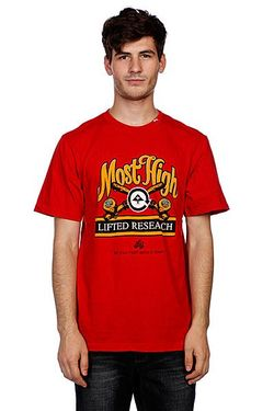 Футболка Most Lifted Tee Red LRG                                                                                                              None цвет