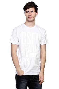 Футболка F U Tonal White Creature                                                                                                              белый цвет