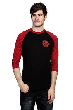 Лонгслив Btg Ring Raglan Black/Cardigan Independent                                                                                                              красный цвет