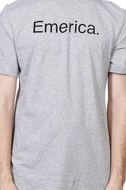 Футболка Pure 12 S/S Tee Grey/Heather Emerica                                                                                                              серый цвет