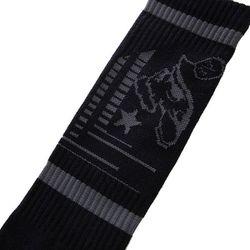 Носки Высокие Bootcamp Sock Black Metal Mulisha                                                                                                              черный цвет