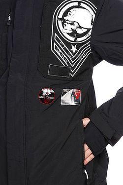 Куртка Зимняя Transfigure Black Metal Mulisha                                                                                                              чёрный цвет