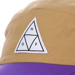 Бейсболка Пятипанелька Scout Volley Tan/Purple Huf                                                                                                              бежевый цвет