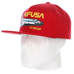 Бейсболка Space Camp Snapback Red Huf                                                                                                              красный цвет
