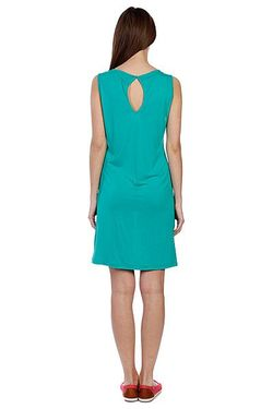 Платье Женское Stone Only Tee Dress Bright Volcom                                                                                                              зелёный цвет