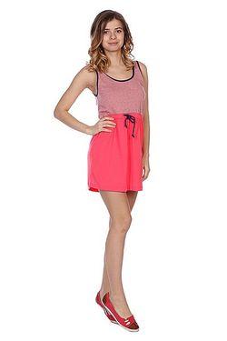 Платье Женское Block Glow Pink Roxy                                                                                                              розовый цвет