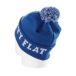 Шапка С Помпоном Ftfy Blue Flat Fitty                                                                                                              синий цвет