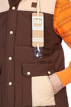 Жилет Buoy Brown HoodieBuddie                                                                                                              коричневый цвет