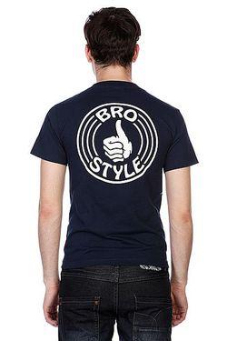 Футболка Pocket Black Bro Style                                                                                                              синий цвет