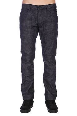 Джинсы Archarcoalitect-I Denim Сlassic Fit Indigo Orisue                                                                                                              None цвет