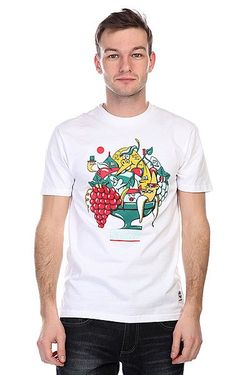 Футболка Fruit Of The Tee Bright White Nootknoot                                                                                                              белый цвет