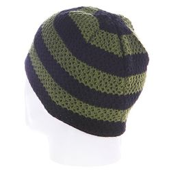 Шапка Buffalo Striped Knits Beanie Olive/Black Fallen                                                                                                              чёрный цвет