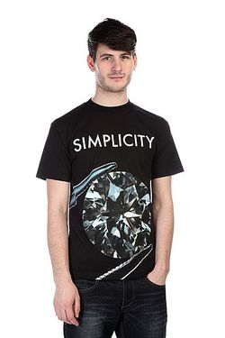 Футболка Simplicity Ii Tee Black Diamond                                                                                                              чёрный цвет