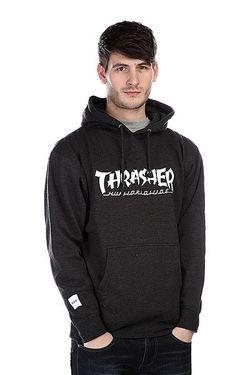 Толстовка X Thrasher Asia Tour Pullover Hoodie Huf                                                                                                              серый цвет