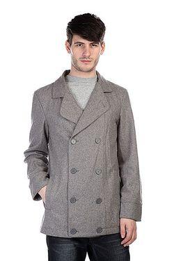 Пальто Jim Peacoat Slate Zoo York                                                                                                              серый цвет