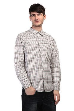 Рубашка В Клетку Cordova Plaid Mirage Grey Marmot                                                                                                              серый цвет