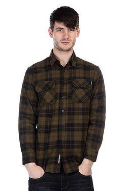 Рубашка В Клетку Regulate Green/Black Independent                                                                                                              черный цвет