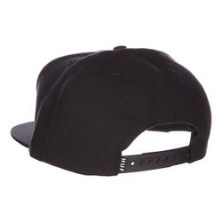 Бейсболка Badge Snapback Black Huf                                                                                                              черный цвет